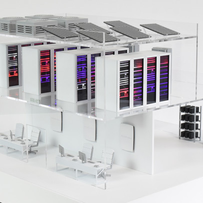 Data Centre Portfolio Page